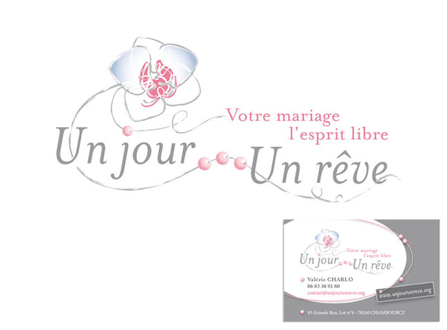 Logo Et Carte De Visite Un Jour Rve