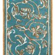 HABIDECOR - Bath mat Dynasty Blue and gold