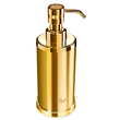 WINDISCH - Gold Brass soap dispenser with Swarovski elements on the push button