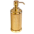 WINDISCH - Gold Brass soap dispenser covered with Swarovski elements
