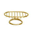 WINDISCH - Soap dish gold brass Big size