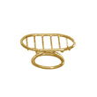 WINDISCH - Soap dish gold brass Small size