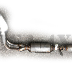 CATALYSEUR + TUBE EURO 4 NIVA