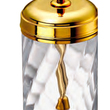 WINDISCH • Toilet Brush holder gold brass and crystal