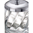 WINDISCH - Cotton bud jar chrome brass