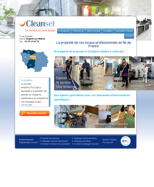 Cleanset