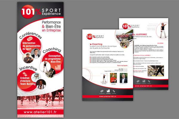 Cr ations publicitaires et communication v nementielle for Support de communication pour salon