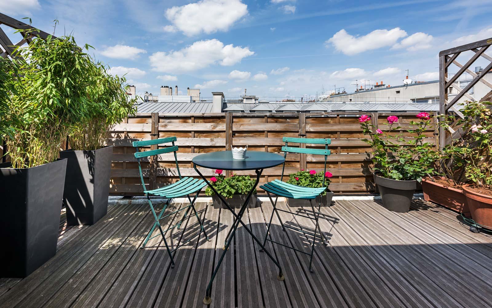 comfort room terrace or balcony hotel vivienne opéra