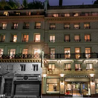 Hotel Vivienne Opera is ideally located in the center of Paris