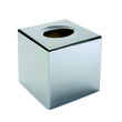 GERSON Silver holder tissue box