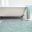 HABIDECOR - Bathroom mat green Brighton