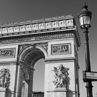 Arc de Triomphe Paris - Ref 111 - © F Brollo