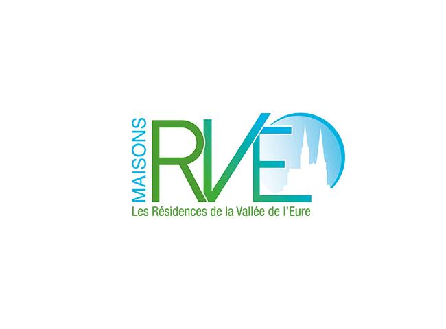 Refonte Logo MAISONS RVE