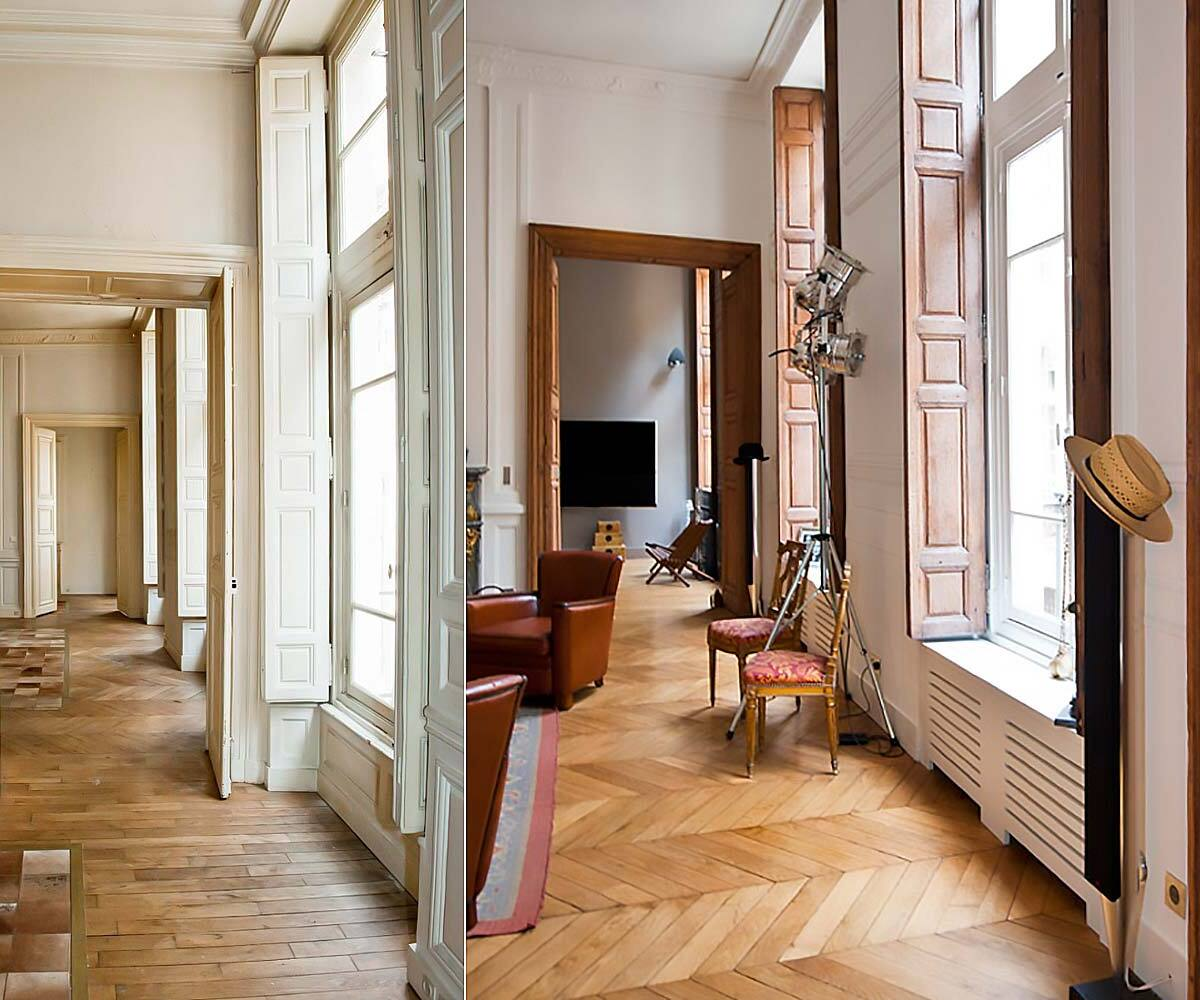 renovation d 39 appartement avant apres travaux b ti lp. Black Bedroom Furniture Sets. Home Design Ideas